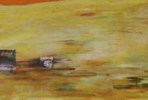 Kickis bilder / Målningar från Norrland, Moçambique  och ingensärskildstans. Paintings from Sweden, Moçambique and noplacespecial.