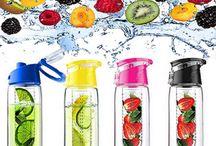 Juice waterflessen