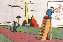 Krazy Kat / ...is an American comic strip created by cartoonist George Herriman, published daily in newspapers between 1913 and 1944.