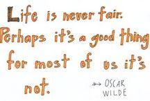 Oscar Runs Wilde / You deserve an Oscar today