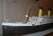 Titanic / Maquette en papier