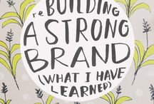 about how to build and grow a brand