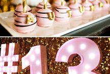 13th Birthday Party Ideas / Goodbye pre-teen, Hello Teenager