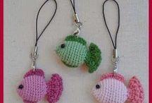 peces al crochet