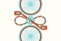 Bike Art / I adore bike art!