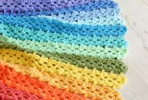 Crocheting with heart