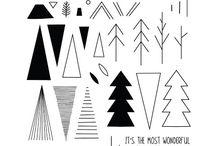 Scandinavian Prints Christmas