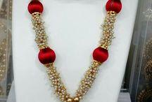silk thread jewellry