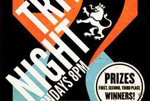 Quiz night posters