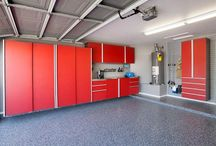 Design Your Own GARAGE / One of the first elements to be addressed in an amazing garage is ORGANIZATION. Once you have established where things go and the basic layout of your space, you then choose accessories. EncoreGarage of NJ is a powerhouse and award winning NJ garage builder. Take a look and get inspired by some of these high quality products and garage designs. Pick and choose from the endless options and DESIGN YOUR OWN GARAGE! www.encoregaragenewjersey.com