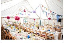 Rainbow wedding decor / Wedding & Event Styling