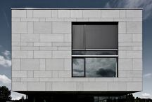 Tectiva in Europe  / Cladding and Facade ideas using Tectiva; Fibre Cement