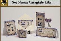 Set nunta Caragiale Lila