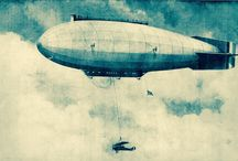 Zeppelins & Flying Machines / Zeppelins / Airships / Flying Machines / Ornithopters etc