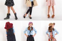 Young girls fashion