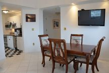 Spacious Two Bedroom Suite / This suite is a two bedroom suite, with a king size bed, a queen size bed, full kitchen, one bathroom, and large living room area with a queen sleeper sofa