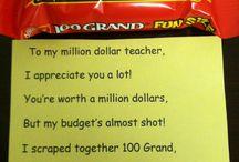 Teacher appreciation week  / by Kelli Stroud