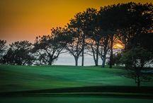 Steven Cox Instagram Photos What Torrey Pines Golf Course looks like at sunset.  #sandiego #golf #torreypines #beautiful #sunset #california