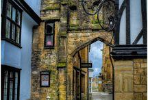 Old UK buildings