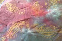 Stencils and fabric design / Fabric design