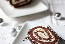 Yule Log Cakes | Buche De Noel
