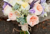 Lavander Bridal Bouquets