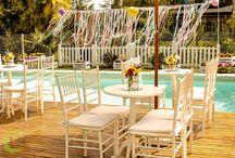 Ambientación Romántica... / Otra hermosa ambientación, super romántica para una comunión familiar llena de detalles!