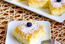 Taarten, koekjes en toetjes