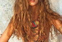Bohemian / Theme Bohemian, boheme. Goldenhour shoot with beautiful model joyce. At the french Coast (Cote Opale)