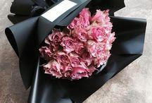 kvety v papiery