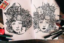 Illustrations-Portrait et Curiosité