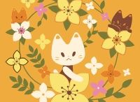 FACECAT_CHERRY BLOSSOM