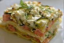 lasagnes aux somon