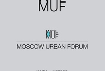 Moscow Urban Forum / Design, Logo, Identity for Moscow Urban Forum