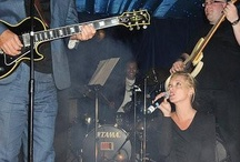 Kate Moss performs with Pink Floyd guitarist David Gilmour…