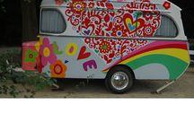 Przyczepy hippie