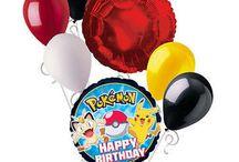 Tuckers 3rd birthday / Pokemon party!