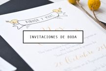 Tarjetas e invitaciones