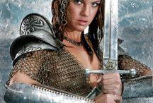 женщина воин