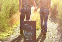Hunt is over - engagement photos