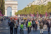 Movilidad Sostenible / Hacia una movilidad más sostenible. Transporte público, bici, caminar...