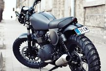 Scramblers and Cafe Racers