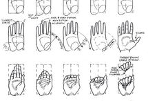 DRAWING REFERENCE (HANDS)