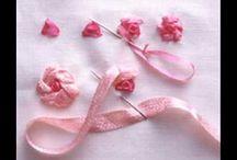 Cómo hacer flores en cinta
