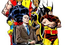 PRofEssor X / The founder of the X-Men, he himself is an exceptionally powerful telepath who can read and control minds of others.  Professor Charles Francis Xavier (known as Professor X)
