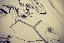Minhas ilustrações / Cristina Hammes