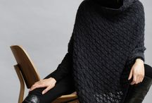 ponchos and capes / knitting and crochet patterns