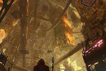 Cool Sci-Fi  & Fantasy Concept Art