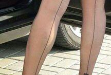 seamed / stocking seam bas nylon