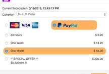 Speedy Route Subscriptions / Speedy Route subscription purchases